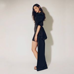 Zara Limited Edition Asymmetrical Dress Size L